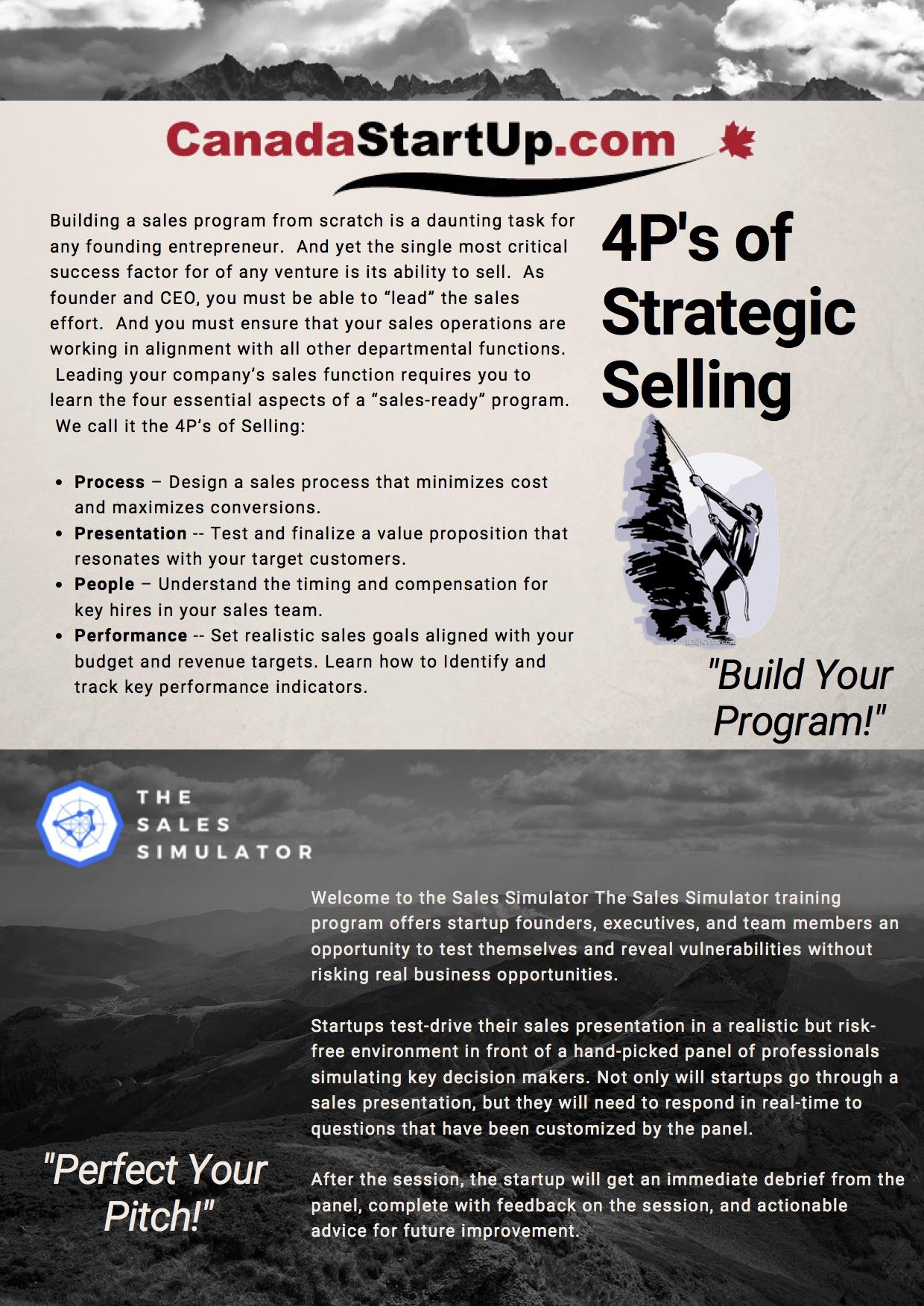 Workshops | Canada Start Up